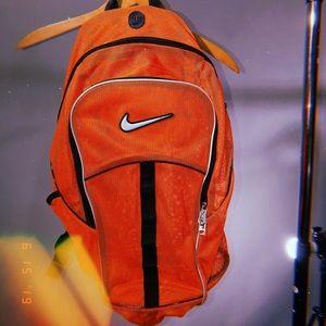NIKE Mesh Backpack Neon Bookbag Nike Trending